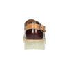 Kožené poltopánky na priehladnej podrážke weinbrenner, červená, 598-5603 - 17