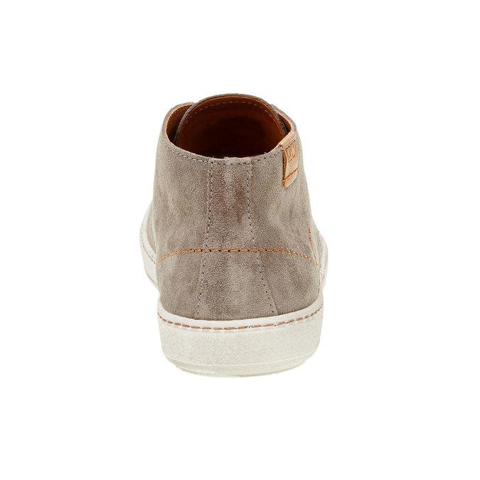 Pánska kožená obuv weinbrenner, hnedá, 843-2661 - 17