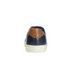 Pánske kožené tenisky bata, modrá, 844-9626 - 17