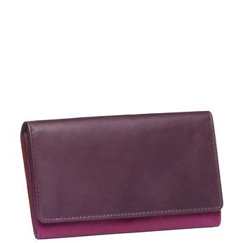 Dámska kožená peňaženka bata, červená, 944-5156 - 13