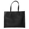 Hranatá kabelka v Shopper štýle bata, čierna, 961-6736 - 26