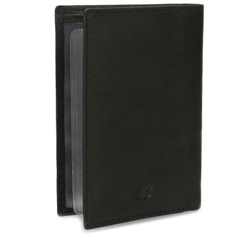 Kožené púzdro na karty bata, čierna, 944-6158 - 13
