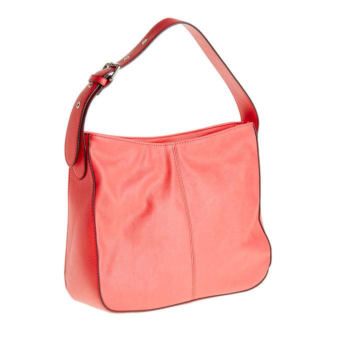 Červená kabelka s nastavitelným uškom bata, ružová, 961-5792 - 13