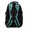 Detský školský batoh bagmaster, zelená, modrá, 969-9602 - 26