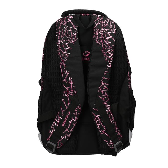 Školský batoh s potlačou bagmaster, čierna, 969-6602 - 26