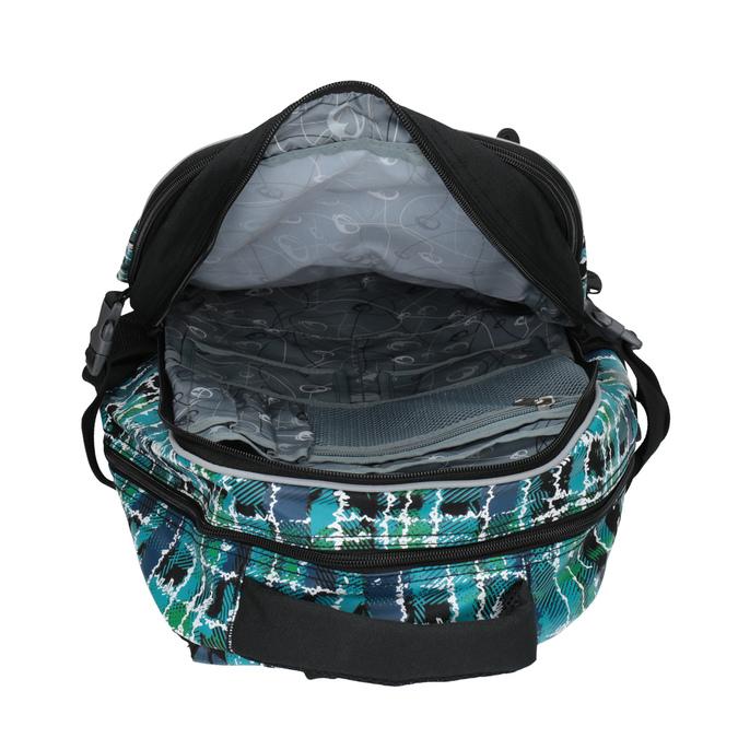 Detský školský batoh bagmaster, zelená, modrá, 969-9602 - 19