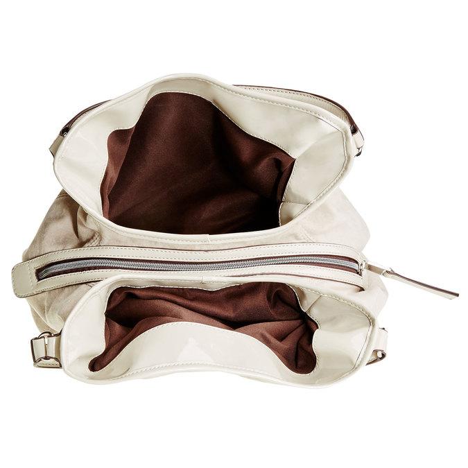 Dámska kabelka bata, béžová, 969-3280 - 15