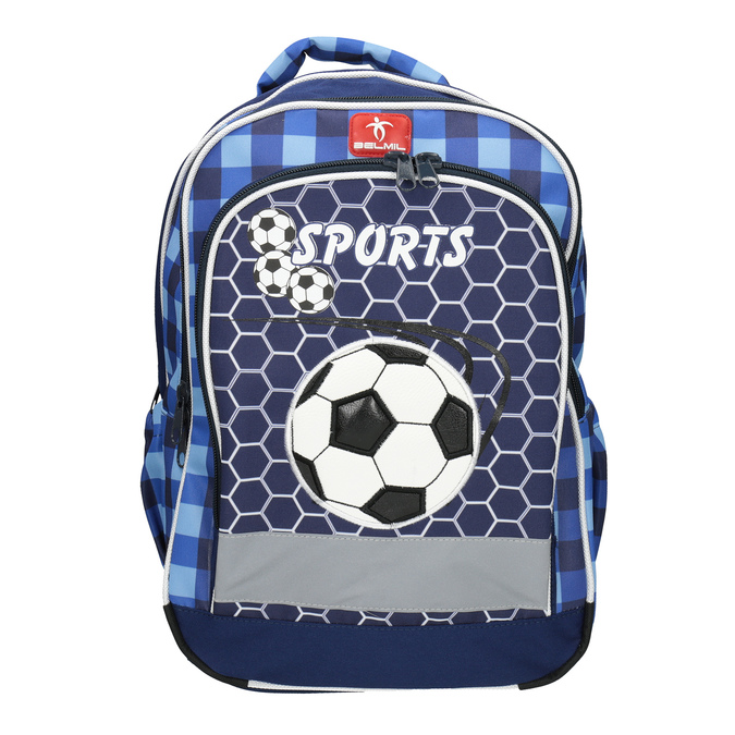 Detský školský batoh belmil, modrá, 969-9629 - 15