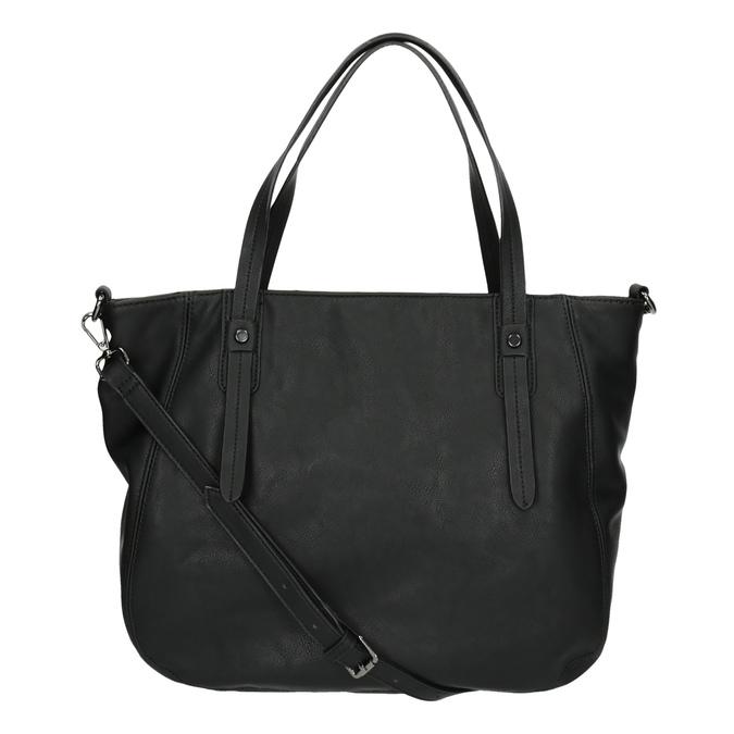 Dámska kabelka s kamienkami bata, čierna, 961-6247 - 26