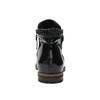 Kožená členková obuv so zipsami bata, čierna, 596-6605 - 17
