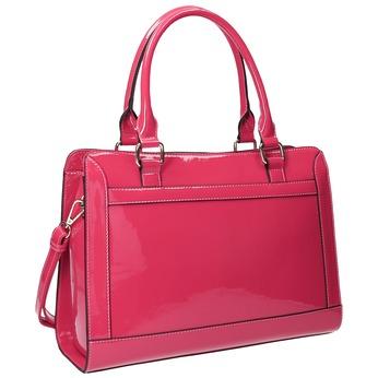 Ružová dámska kabelka bata, ružová, 961-1610 - 13