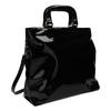 Čierna dámska kabelka do ruky bata, čierna, 961-6606 - 13