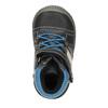 Dámska členková obuv bubblegummers, čierna, 111-6610 - 19
