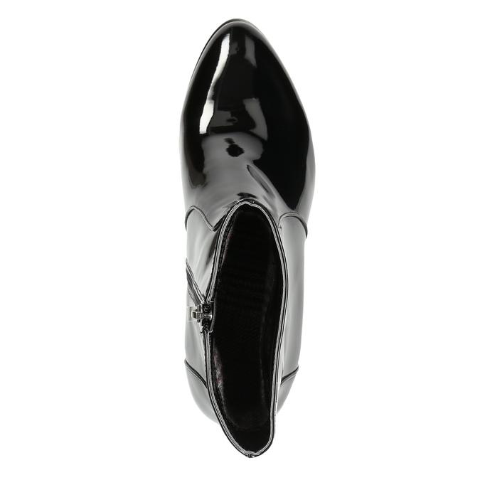 Členková obuv bata, čierna, 691-6630 - 26