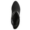Dámska členková obuv s prackou bata, čierna, 699-6630 - 26