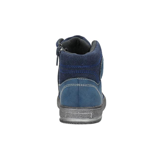 Detské členkovékové tenisky modré mini-b, modrá, 411-9600 - 17