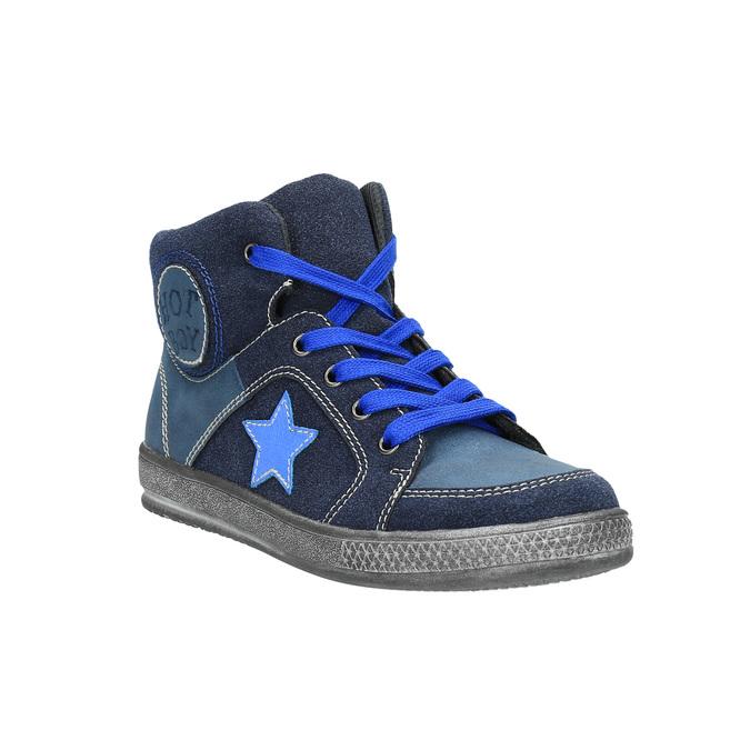 Detské členkovékové tenisky modré mini-b, modrá, 411-9600 - 13