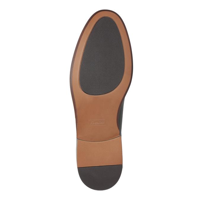 Kožené hnedé poltopánky bata, hnedá, 824-4684 - 26
