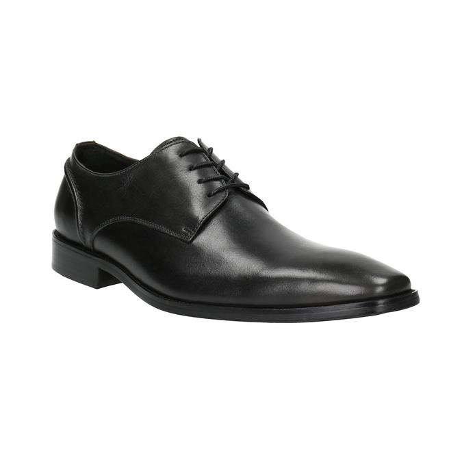Pánske kožené poltopánky bata, čierna, 826-2646 - 13