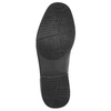 Čierne kožené poltopánky rockport, čierna, 824-6106 - 26