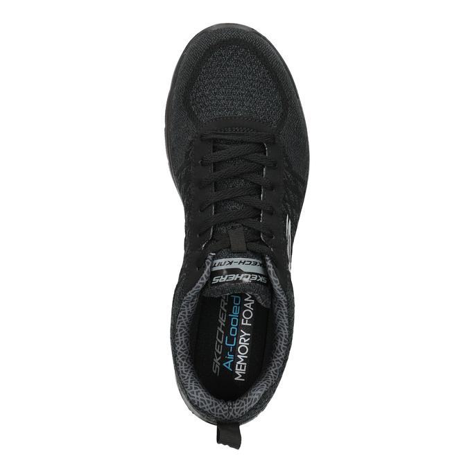 Pánske športové tenisky skechers, čierna, 809-6350 - 19