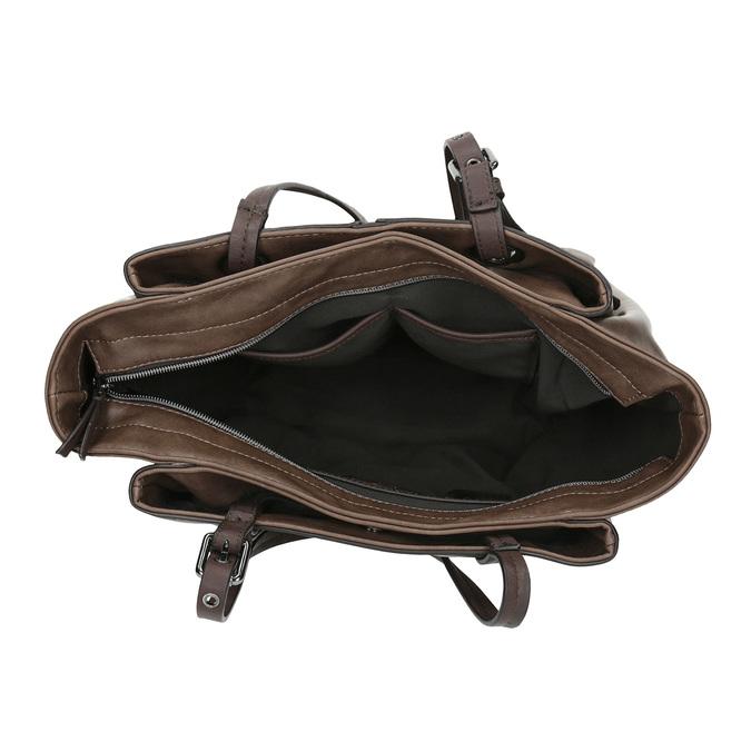 Hnedá dámska kabelka bata, hnedá, 961-2123 - 15