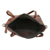 Hnedá kožená kabelka bata, hnedá, 964-3234 - 15
