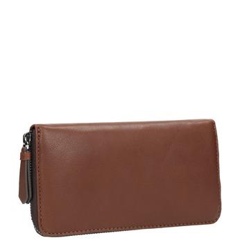 Hnedá kožená peňaženka bata, hnedá, 944-3165 - 13