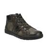 Pánska členková obuv kožená bata, šedá, 846-2602 - 13