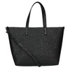 Shopper kabelka s pevným dnom bata, čierna, 961-6647 - 26