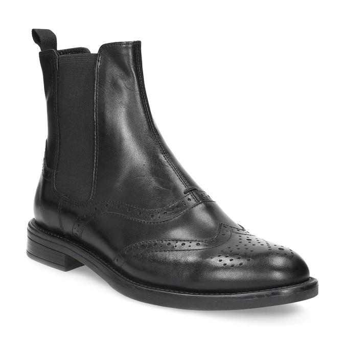 Kožené Chelsea Boots so zdobením vagabond, čierna, 514-6002 - 13