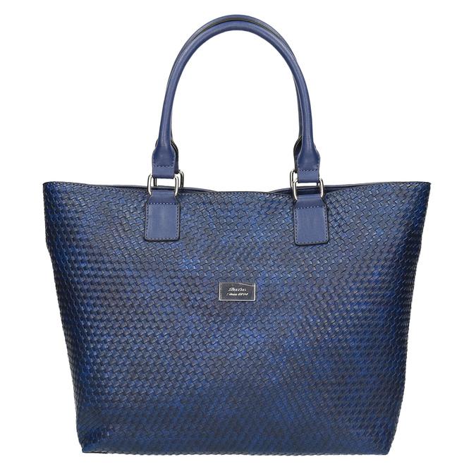 Modrá dámska kabelka bata, modrá, 961-9651 - 19