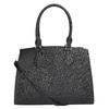 Čierna dámská kabelka s pevnými rúčkami bata, čierna, 961-6646 - 26