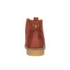 Dámska členková obuv s farebnou podšívkou bata, oranžová, 599-5605 - 17
