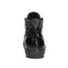 Kožené členkové tenisky so zipsami bata, čierna, 546-6600 - 17