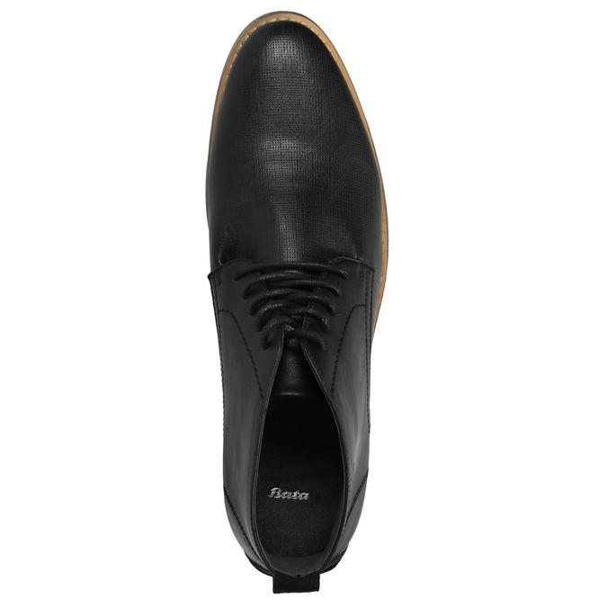 Pánska členková obuv čierna bata, čierna, 891-6600 - 19