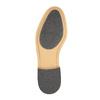 Pánske kožené poltopánky s ležérnou podrážkou bata, čierna, 824-6728 - 26