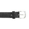 Kožený opasok s prešitím bata, čierna, 954-6147 - 26