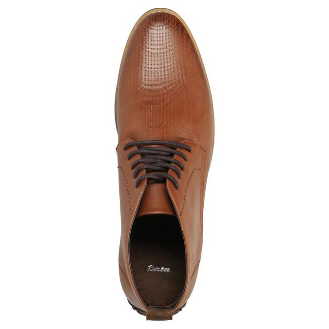 Ležérne členkové poltopánky hnedé bata, hnedá, 891-3600 - 19