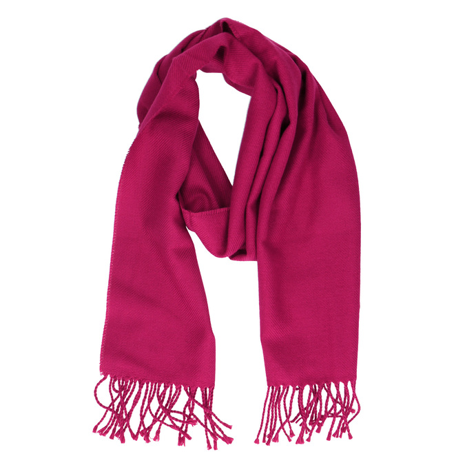 Ružový dámsky šál bata, ružová, 909-5209 - 13
