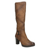 Dámske čižmy bata, hnedá, 796-4601 - 13