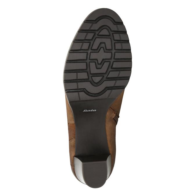 Dámske čižmy bata, hnedá, 796-4601 - 19