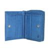 Kožená dámská peňaženka bata, modrá, 944-9157 - 15