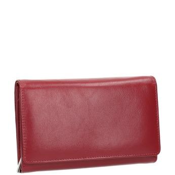 Kožená dámska peňaženka bata, červená, 944-5168 - 13