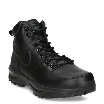 Kožená pánska členková obuv nike, čierna, 806-6435 - 13