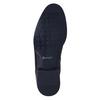 Kožená členková obuv so zateplením conhpol, čierna, 894-6679 - 26