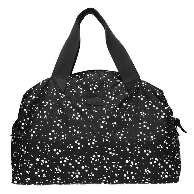 Cestovná taška s bodkovaným vzorom bjorn-borg, čierna, 969-6013 - 19