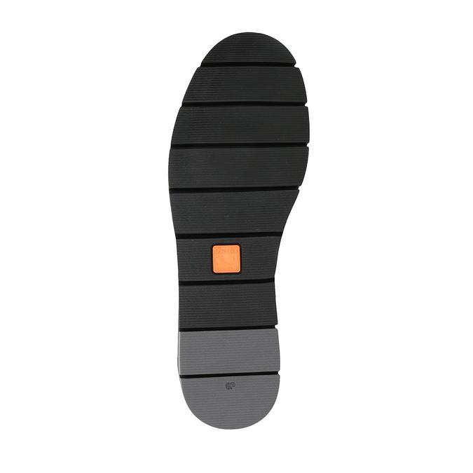 Dámske kožené Slip-on čierne flexible, čierna, 514-6252 - 26