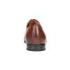 Hnedé kožené poltopánky Derby bata, hnedá, 826-3771 - 17