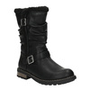 Dievčenské zateplené čižmy mini-b, čierna, 391-6653 - 13
